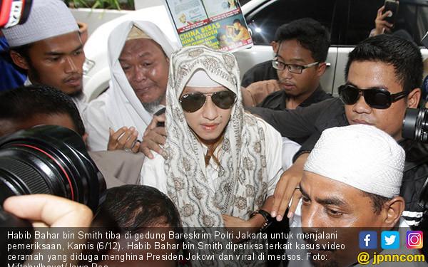 Bareskrim Polri Periksa Habib Bahar bin Smith - JPNN.COM