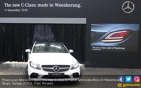 Peluncuran Mercedes Benz The new C-Clas - JPNN.COM