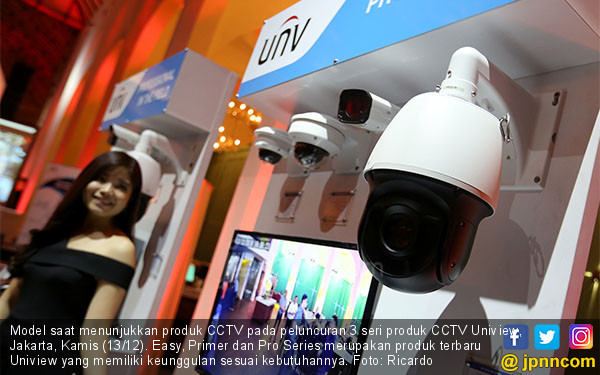 Uniview Luncurkan 3 Seri Produk CCTV - JPNN.COM