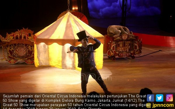 The Great 50 Show Oriental Circus Indonesia - JPNN.COM