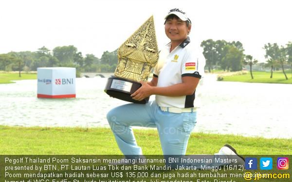 Pegolf Thailand Menjuarai BNI Indonesian Masters - JPNN.COM