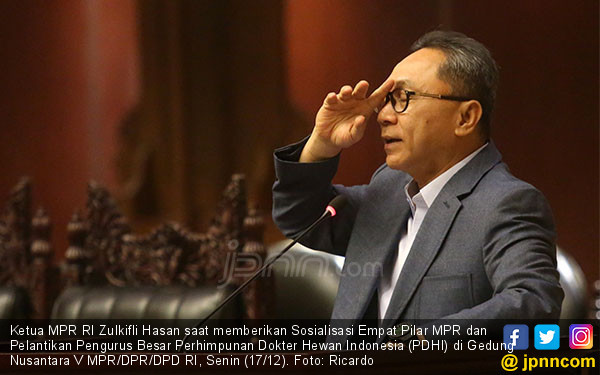 Ketua MPR RI Zulkifli Hasan - JPNN.COM