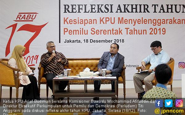 Refleksi Akhir Tahun KPU - JPNN.COM