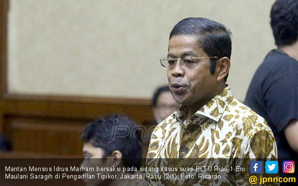 Idrus Marham Bersaksi di Sidang Eni Saragih - JPNN.COM
