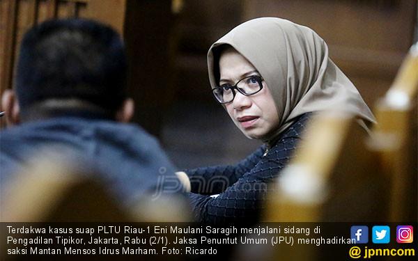 Eni Maulani Saragih Jalani Sidang - JPNN.COM