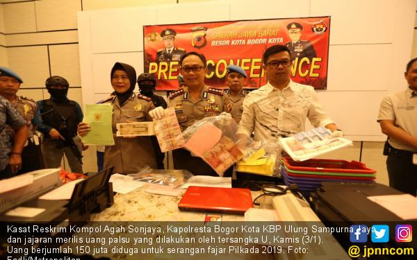 Polresta Bogor Bekuk Seorang Pembuat Upal - JPNN.COM