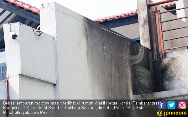 Kediaman Wakil Ketua KPK Laode M Syarif - JPNN.COM