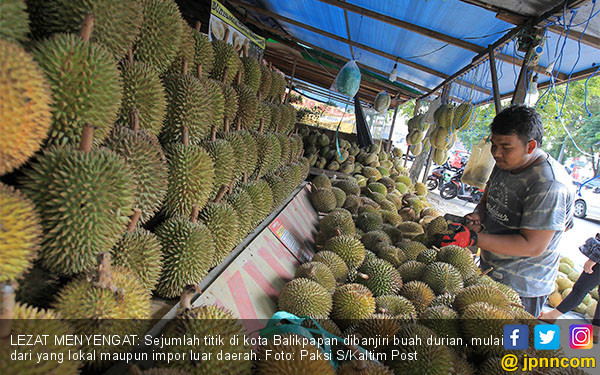 Kota Balikpapan Banjir Buah Durian - JPNN.COM