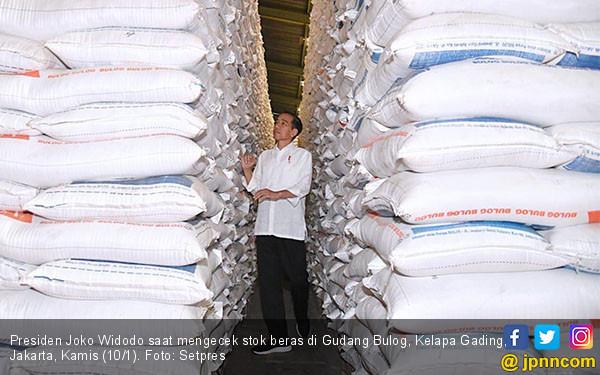 Presiden Jokowi Sidak Gudang Bulog - JPNN.COM