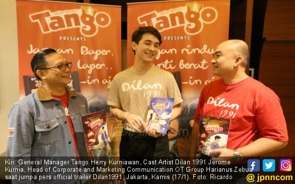 Wafer TANGO Gandeng Film Dilan 1991 - JPNN.COM