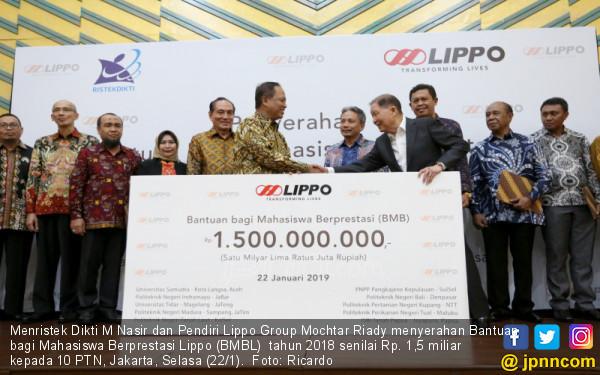 Lippo Serahkan Bantuan 1,5 M Kepada 10 PTN - JPNN.COM