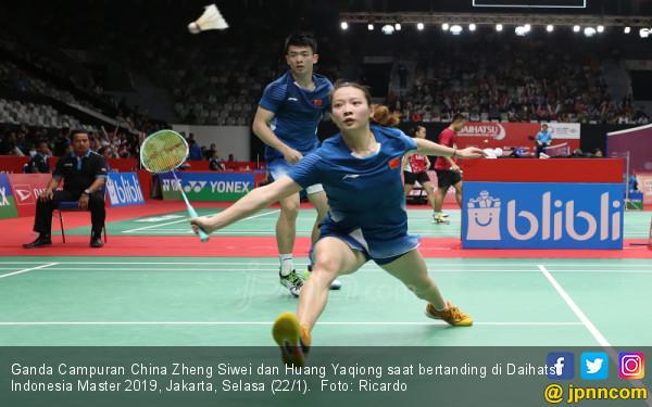Ganda Campuran China Zheng Siwei dan Huang Yaqiong - JPNN Foto