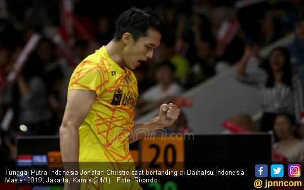 Tunggal Putra Indonesia Jonatan Christie - JPNN.COM
