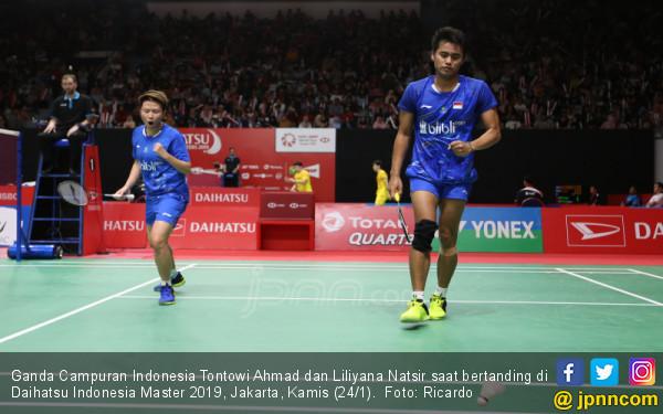Ganda Campuran Indonesia Tontowi Ahmad dan Liliyana Natsir - JPNN.COM