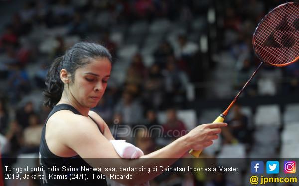 Tunggal putri India Saina Nehwal - JPNN.COM