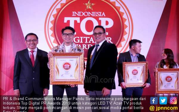 Sharp Raih Indonesia Digital Top PR Awards 2019 - JPNN.COM