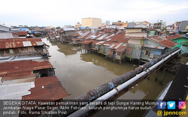 Pemukiman Tepi Sungai Karang Mumus Akan Ditata - JPNN.COM