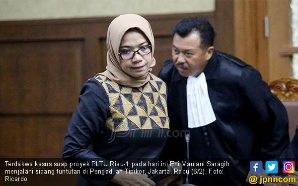 Eni Maulani Saragih Jalani Sidang Tuntutan - JPNN.COM