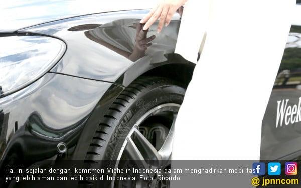 Michelin Jadi Ban Bawaan Mobil Mercedes-Benz Berteknologi EQ Boost - JPNN.COM