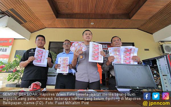 Polres Balikpapan Ungkap Peredaran Upal - JPNN.COM