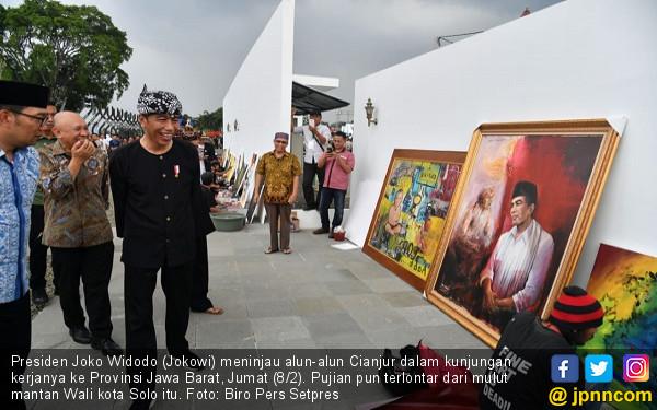 Presiden Jokowi Puji Alun-alun Cianjur - JPNN.COM
