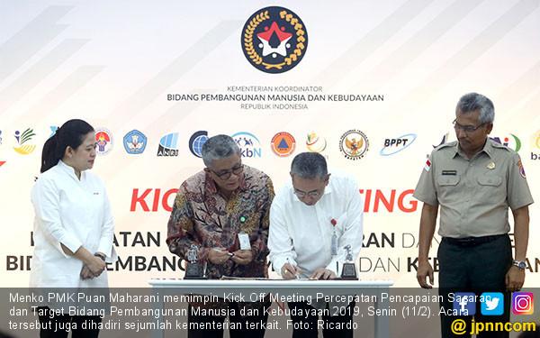 Percepatan Pencapaian Sasaran dan Target Bidang Pembangunan Manusia dan Kebudayaan - JPNN.COM