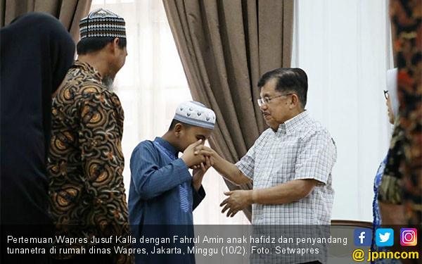 Wapres JK Sambut Kunjungan Fahrul Amin - JPNN.COM