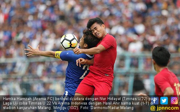 Arema Vs Timnas: 22 Kontra Arema FC