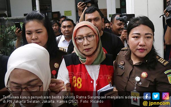 Dapat Pembebasan Bersyarat, Ratna Sarumpaet Bisa Hirup Udara Segar - JPNN.com