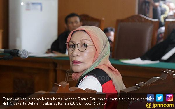Jaksa Siapkan 6 Saksi untuk Buktikan Kejahatan Ratna Sarumpaet - JPNN.com