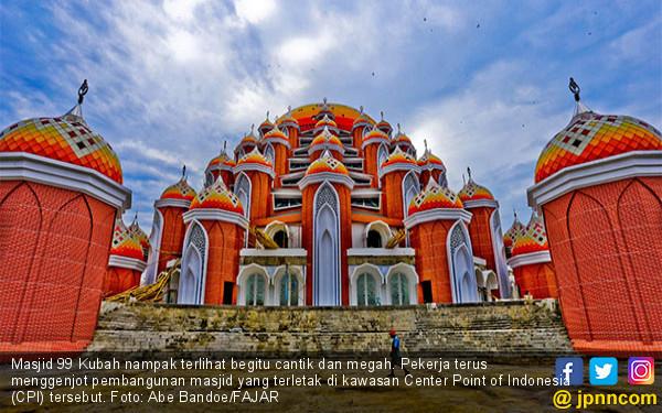 Cantik dan Megahnya Masjid 99 Kubah - JPNN.COM