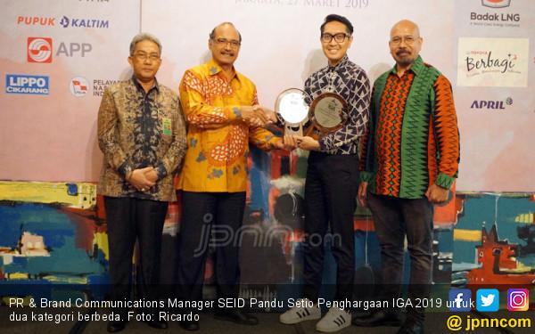 Sharp Indonesia Raih Penghargaan IDPBA 2019 Penghargaan IGA 2019 - JPNN.COM