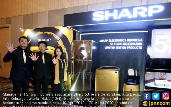 Sharp 50 Years Celebration: Kita Dekat, Kita Keluarga Jakarta - JPNN.COM