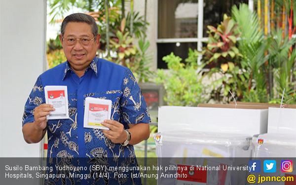SBY Gunakan Hak Pilihnya di Singapura - JPNN.COM