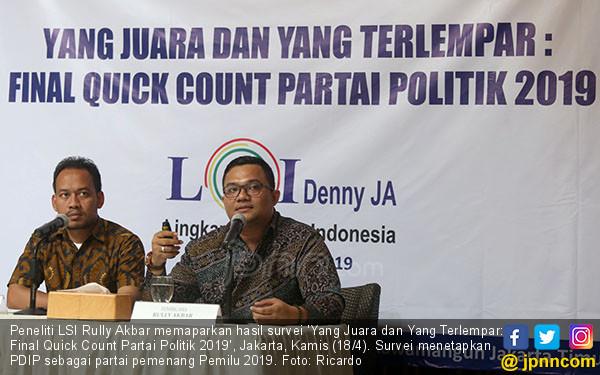 Yang Juara dan Yang Terlempar: Final Quick Count Partai Politik 2019 - JPNN.COM