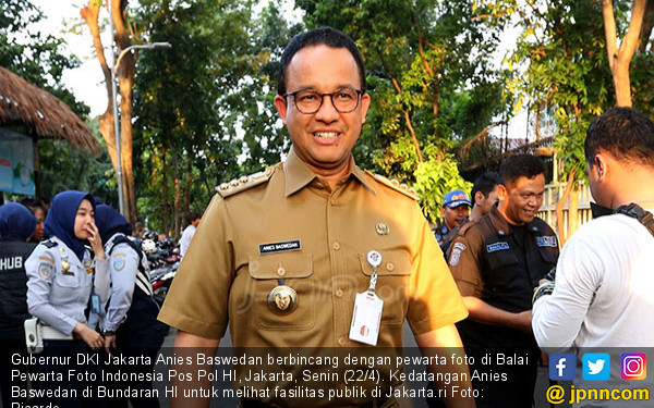 Pimpinan Honorer K2: Terima Kasih, Pak Anies - JPNN.com
