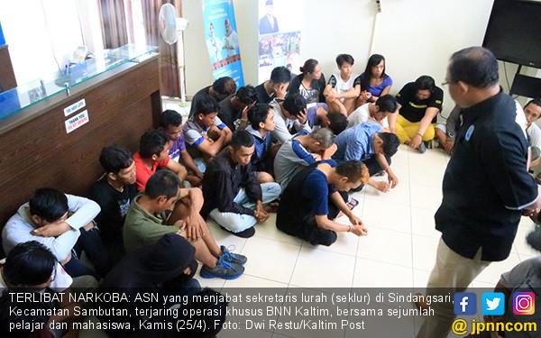 Terjerat Narkoba, Sekretaris Lurah Diamankan - JPNN.COM