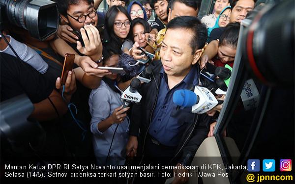 KPK Periksa Setya Novanto - JPNN.COM