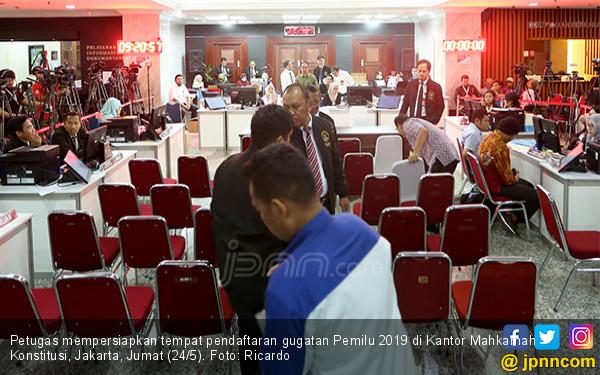 MK Siapkan Tempat Pendaftaran Gugatan Pemilu 2019 - JPNN.COM