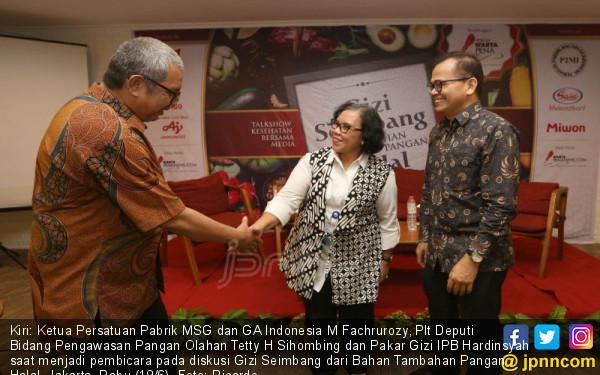 Diskusi Gizi Seimbang dari Bahan Tambahan Pangan Halal - JPNN.COM