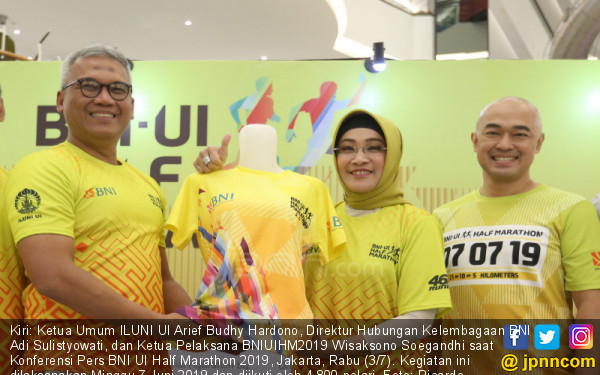 Jelang BNI UI Half Marathon 2019 - JPNN.COM