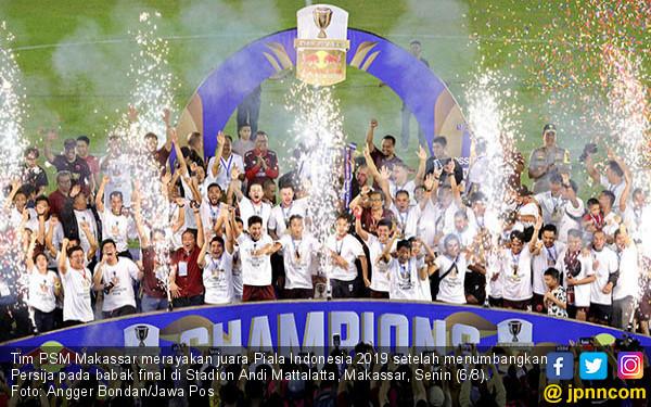 Jawara Piala Indonesia, PSM Berpesta - JPNN.COM
