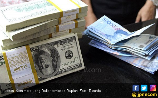Awal Pekan, Rupiah Masih Baik di Bawah Rp 14.000 per Dolar AS - JPNN.com