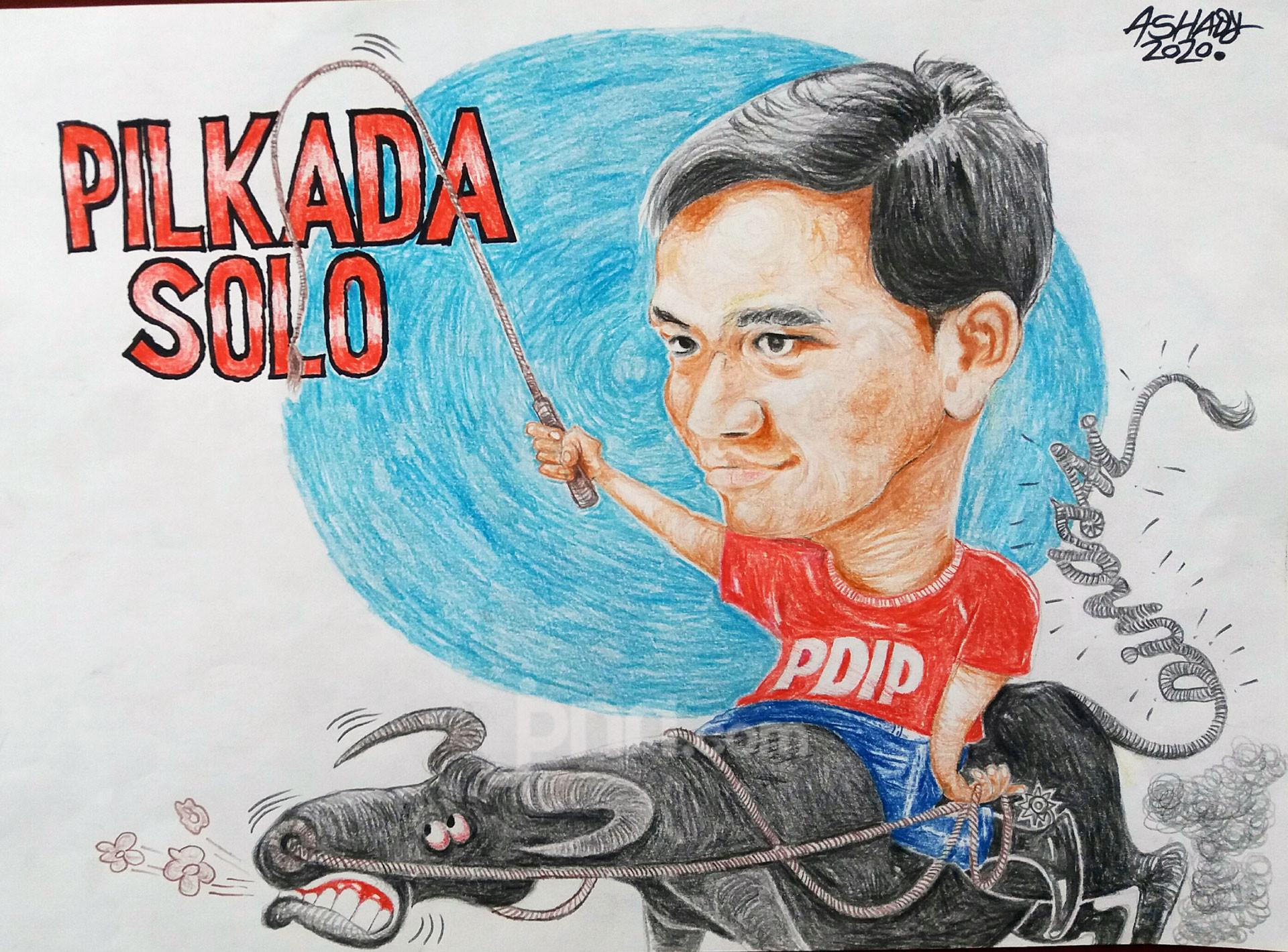 Pilkada Solo. Karikatur oleh Ashady - JPNN.com