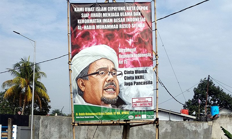 Ada Peringatan Keras dari Irjen Luthfi, Baliho Habib Rizeq Dicopoti - JPNN.com
