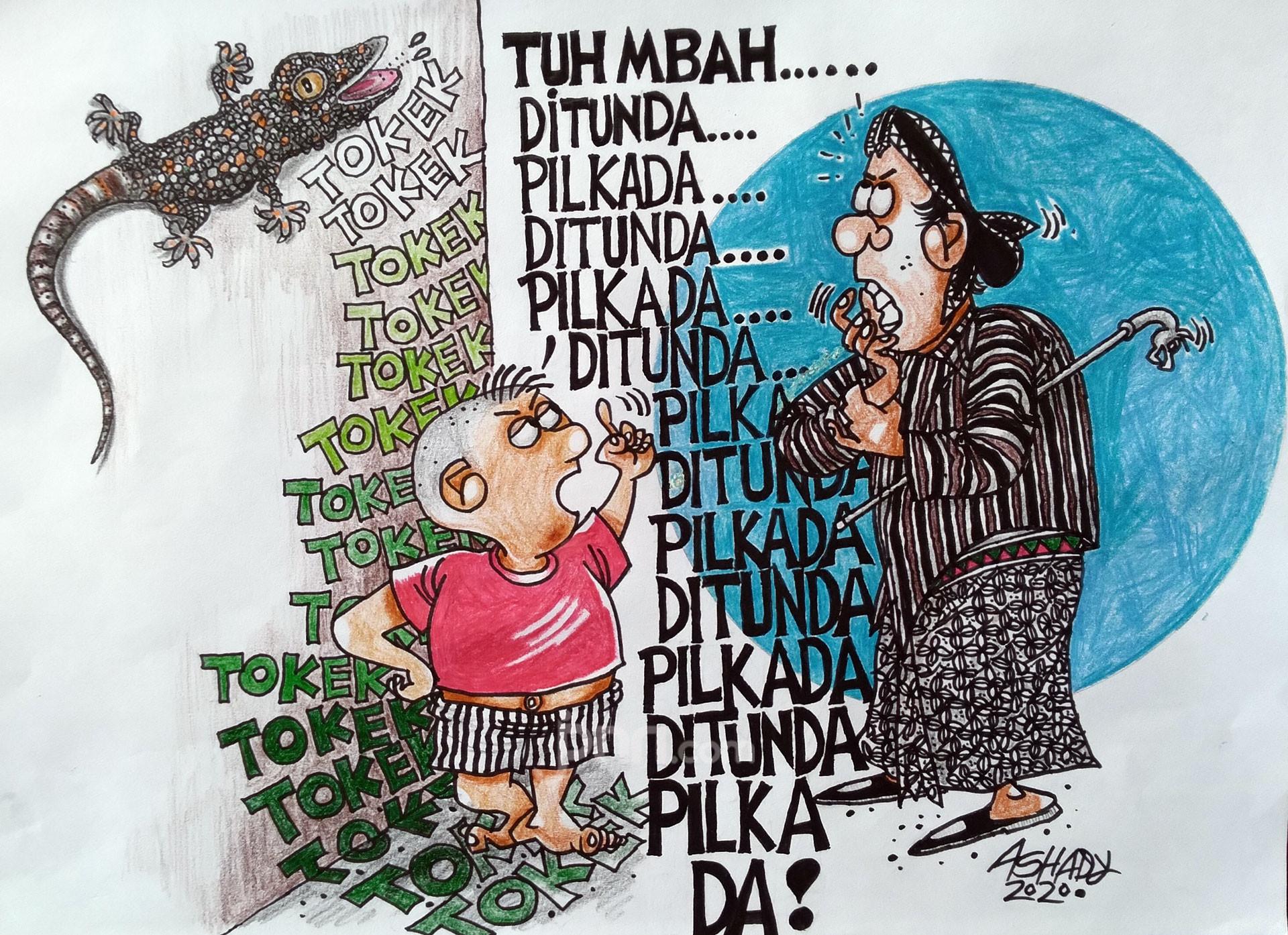 Pilkada. Karikatur oleh Ashady - JPNN.com