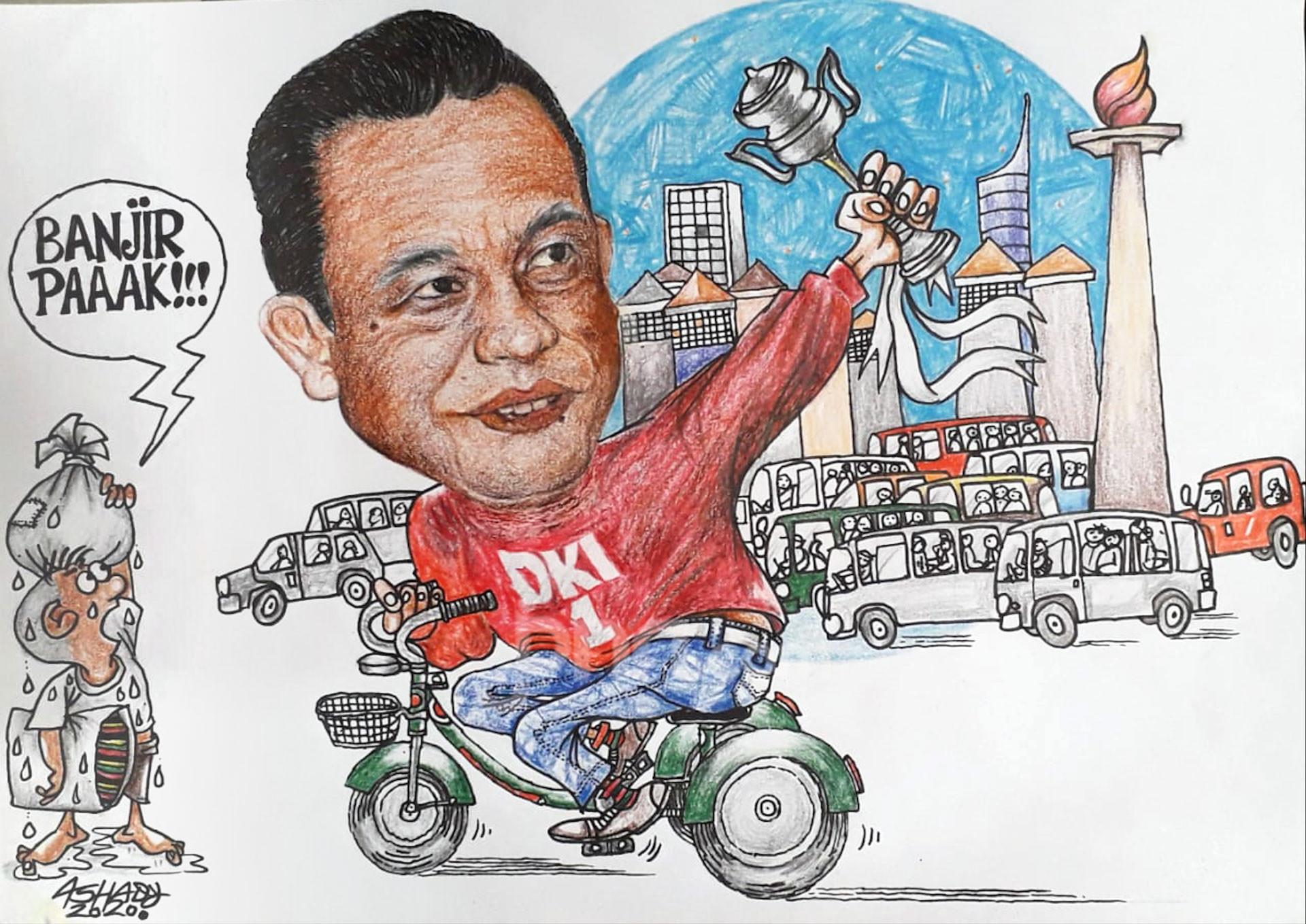 Penghargaan. Karikatur oleh Ashady - JPNN.com