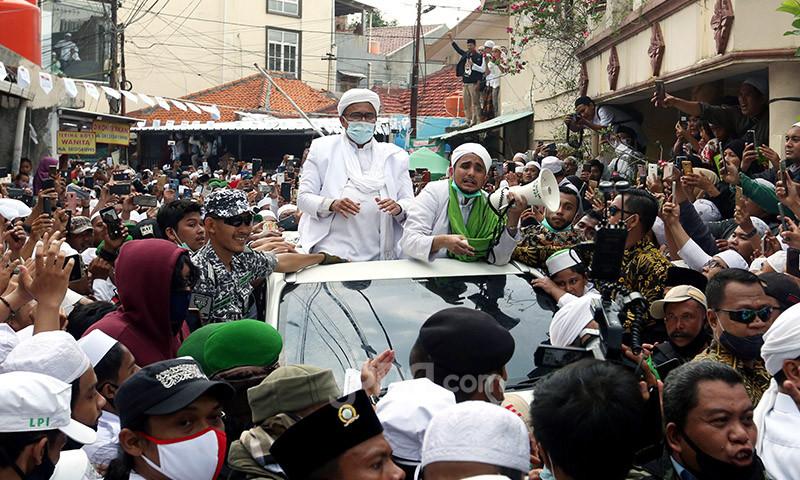 Kasus Kerumunan Rizieq Shihab Naik ke Penyidikan, Lalu Kapan Imam Besar FPI Dipanggil? - JPNN.com