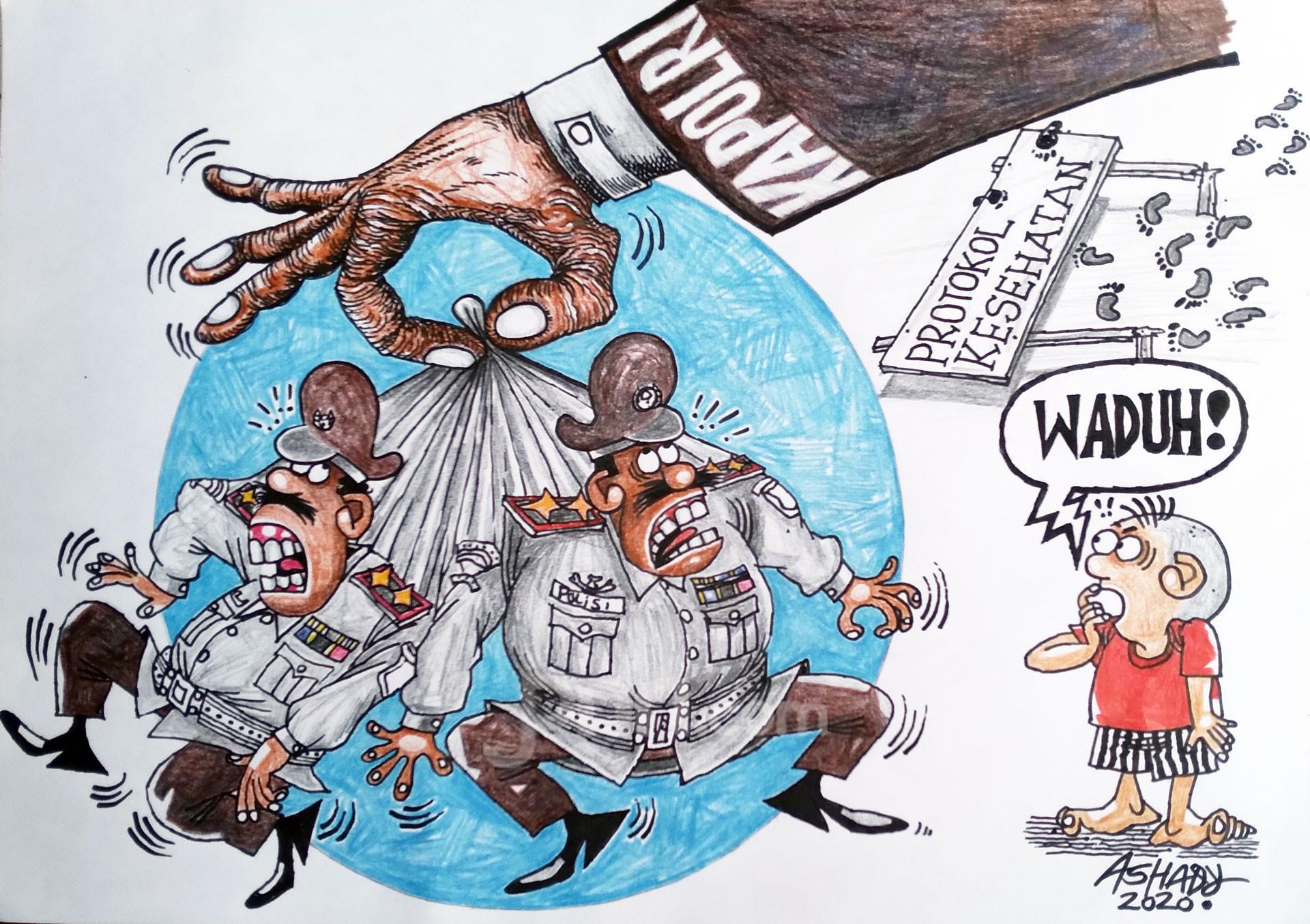 Demi Prokotol Kesehatan Karikatur oleh Ashady - JPNN.com