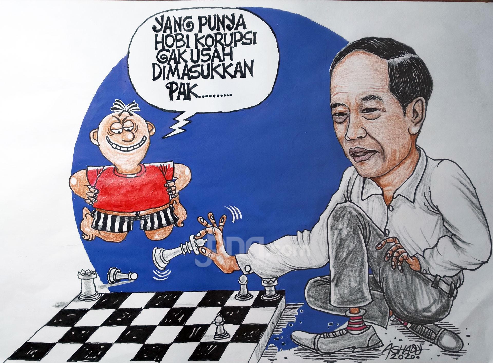 Utak-Atik Kabinet. Karikatur oleh Ashady - JPNN.com